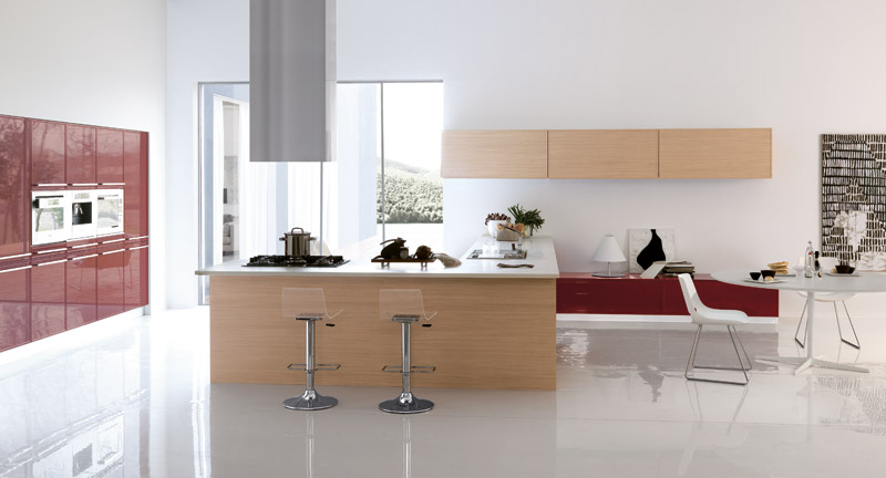 Ring Modern Kitchen Design