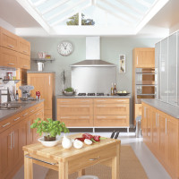 Shaker Honey Kitchen Design