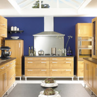 Shaker Honeywood Kitchen Design
