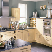 Shaker Maple Kitchen Design