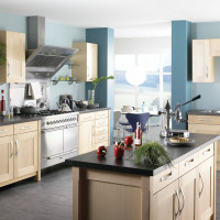 Shaker Maplewood Kitchen Design
