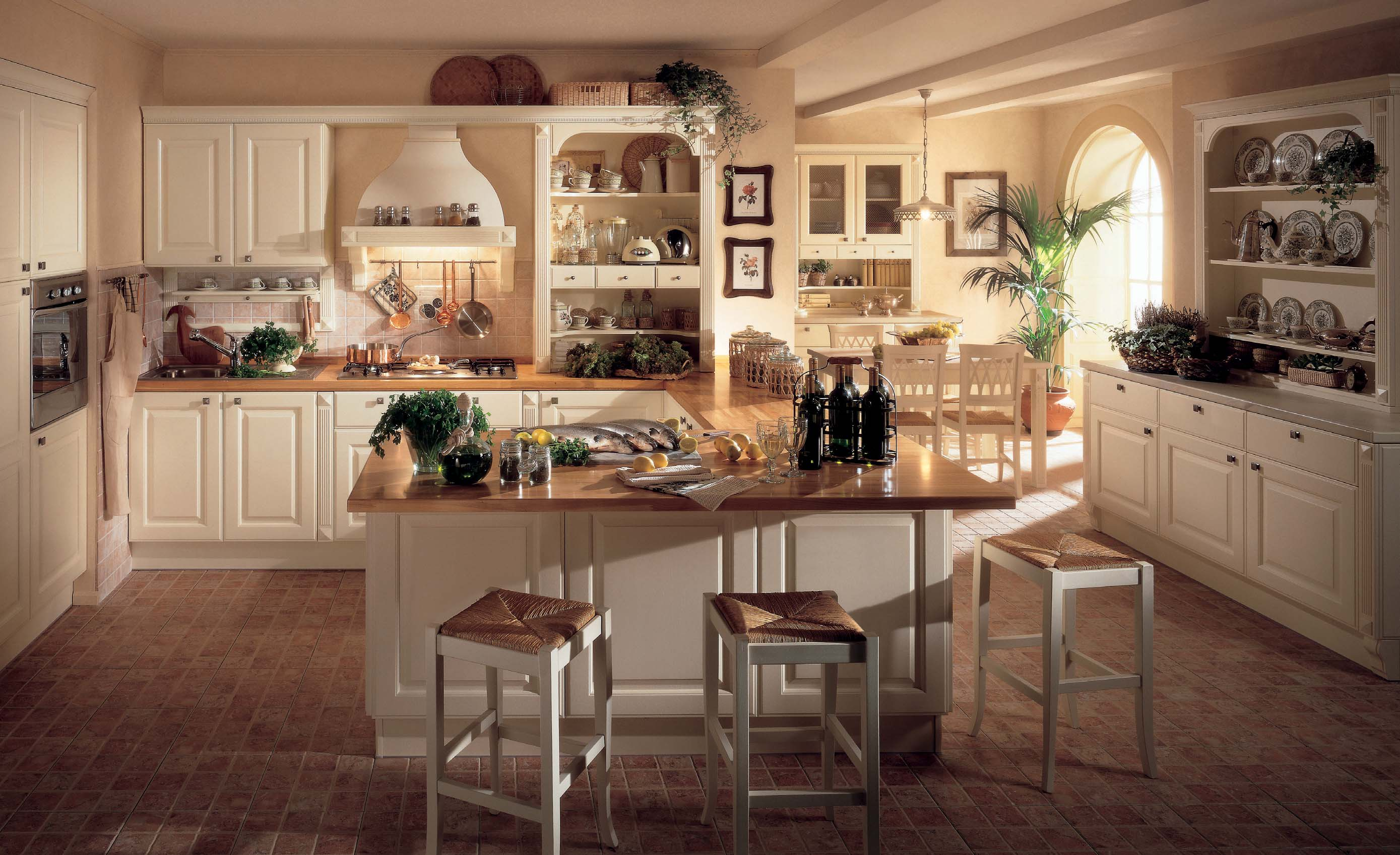 Athena classic kitchen interior inspiration - Interior designs of houses and kitchens ...