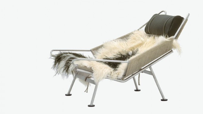 Flag Halyard Lounge Chair Side - PP Mobler