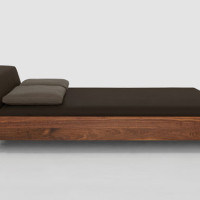 Solid Wood Beds by Zeitraum