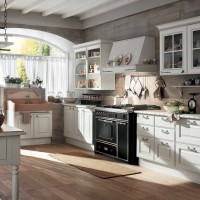 Gaia Classic White Kitchen Interior