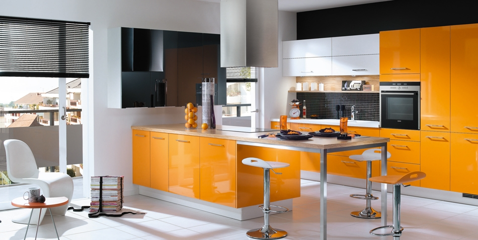 Niobe Mandarin Guava Green And Blackcurrant Kitchen Design StyleHomesnet