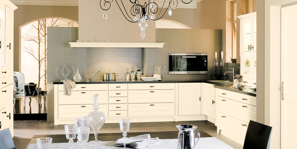 Sigma beige kitchen interior model for Beige kitchen designs