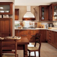 Small Classic Lirica Kitchen Interior Design