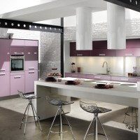 Tallys Purple and Blackcurrant Kitchen Model