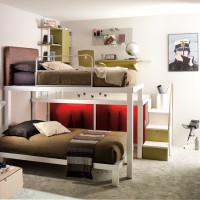 Teen Bedroom with Bunk Beds