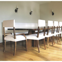 Dining Room Interior – Exotic Wood Dining Tables by Constantini Design