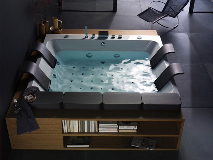 Thais Art Whirlpool Bathtub-1