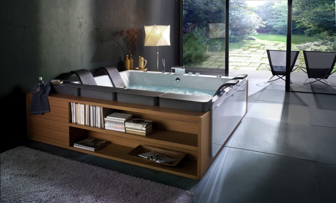 Thais Art Whirlpool Bathtub-2