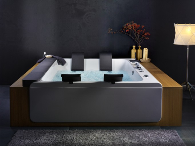 Thais Art Whirlpool Bathtub-3