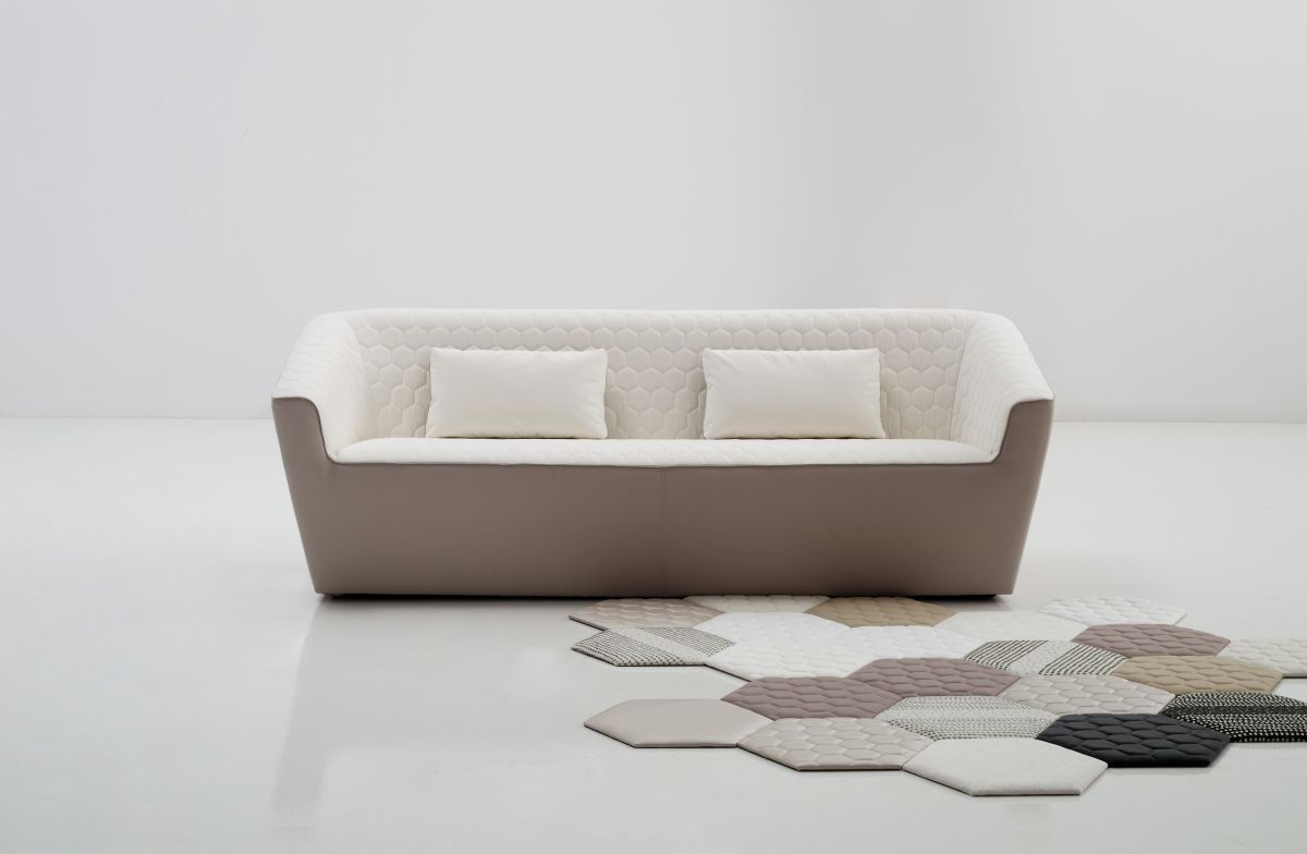 Hexagon Sofa Front View