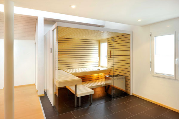Home » Bathroom Interior – In Home Sauna by Kung Sauna » Home ...