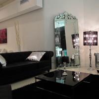 Black Cassiopeia Floor Lamp by Modani