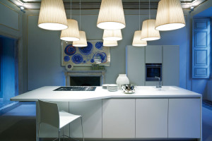 Blue Kitchen Design G-One