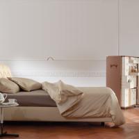 Capitone Headboard Base Bed Flair 03 by Poltrona Frau
