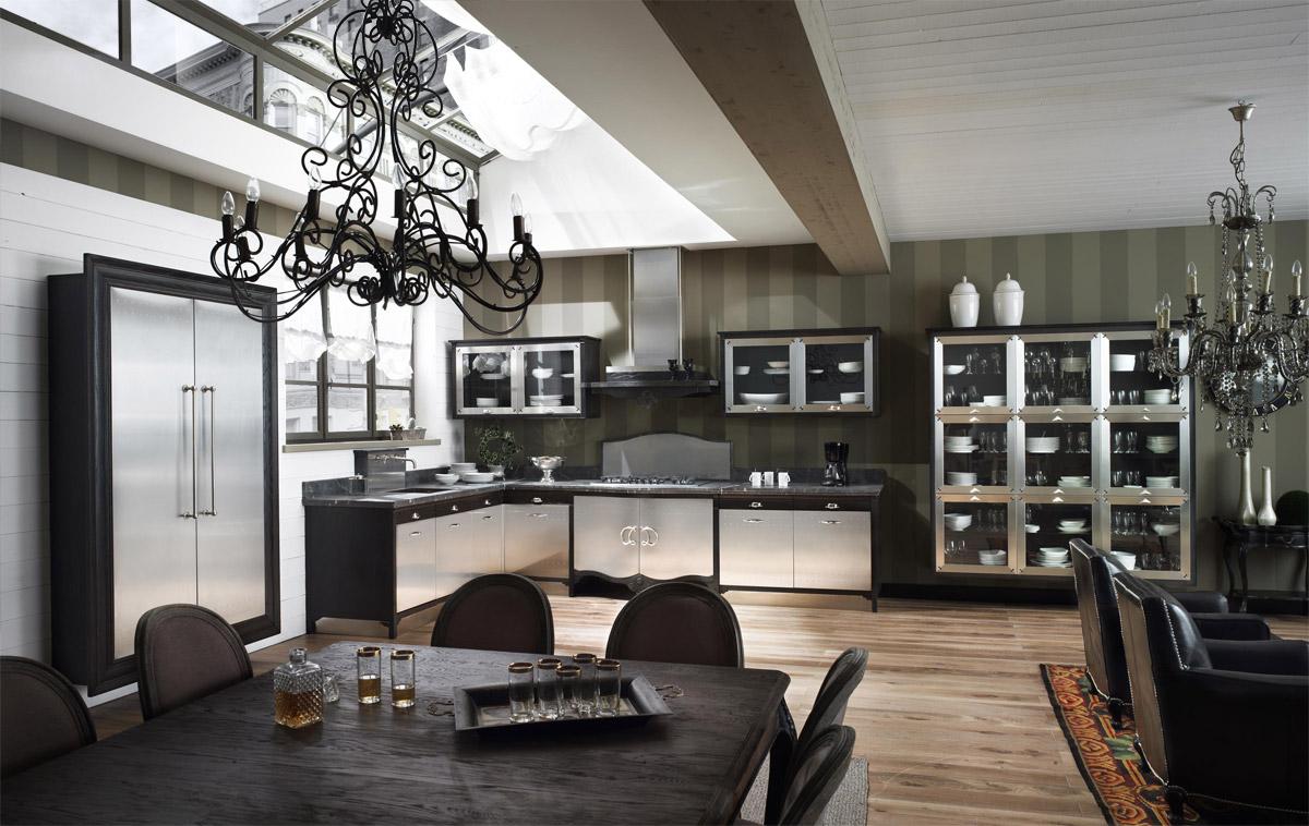 Classic Kitchen Dechora -1 by Marchi Cucine - StyleHomes.net
