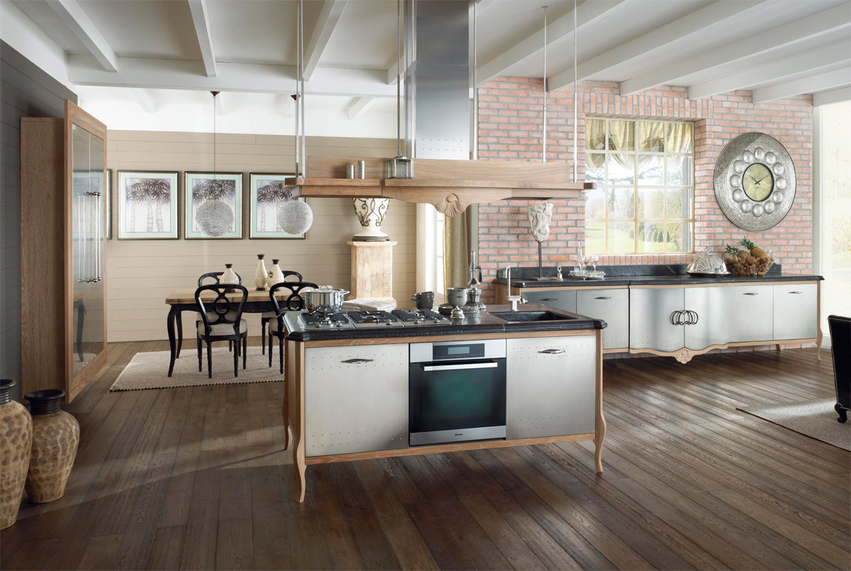 Classic kitchen dechora 2 by marchi cucine for Classic kitchen design
