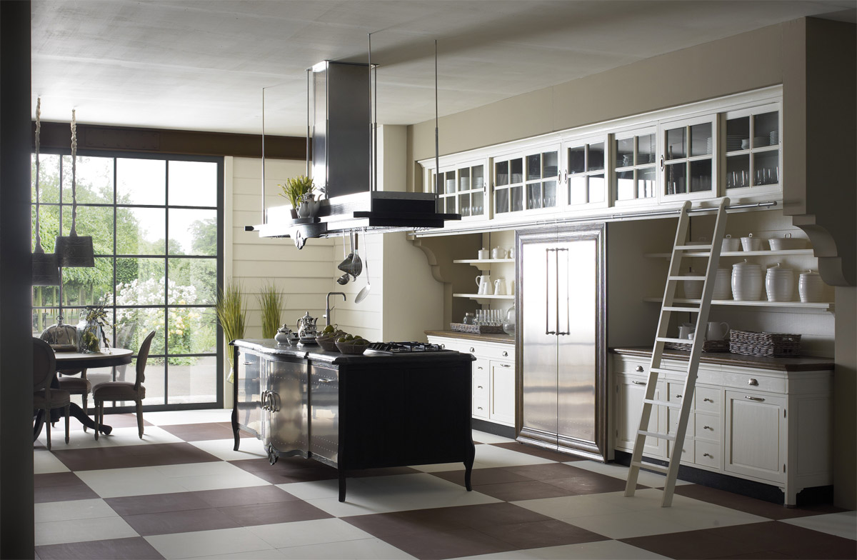classic kitchen designs from marchi cucine italy kitchen designs