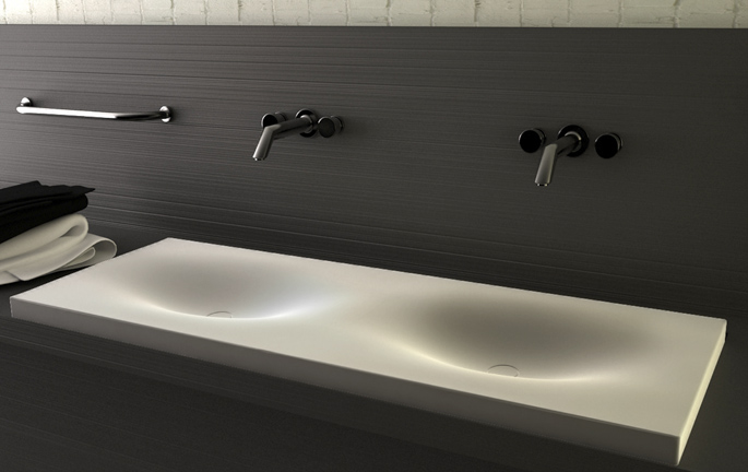 Cocoon Min Sink Design For Modern Bathroom
