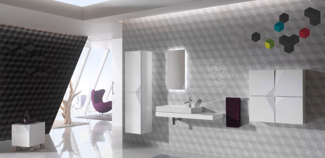 Colorful Cube Tiles Collection