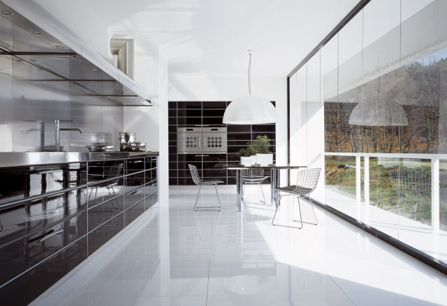 Glossy Kitchen Design Soviore