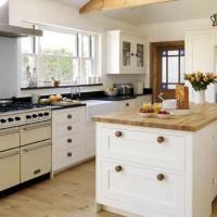 Kitchen Interior in White