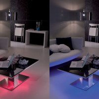 Led-lighted Tables Ozzio E-Motion-4