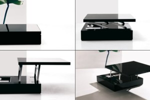 Led-lighted Tables Ozzio Flat-3
