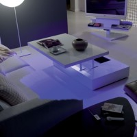 Led-lighted Tables Ozzio Flat-5