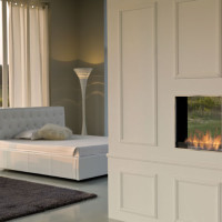 Linea Incasso Bio Fireplace
