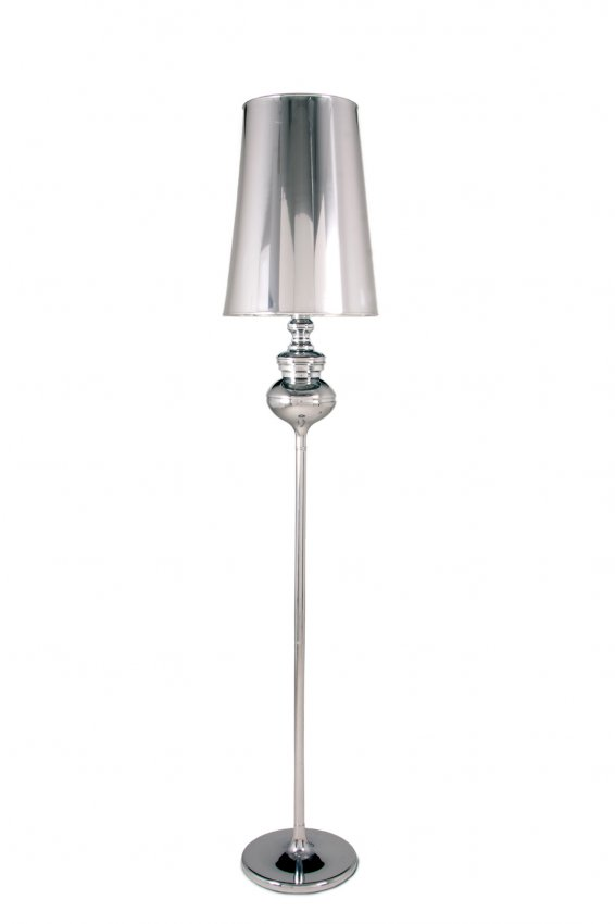 Silver lamp picasso floor lamp silver safavieh lighting for Adesso trio floor lamp silver