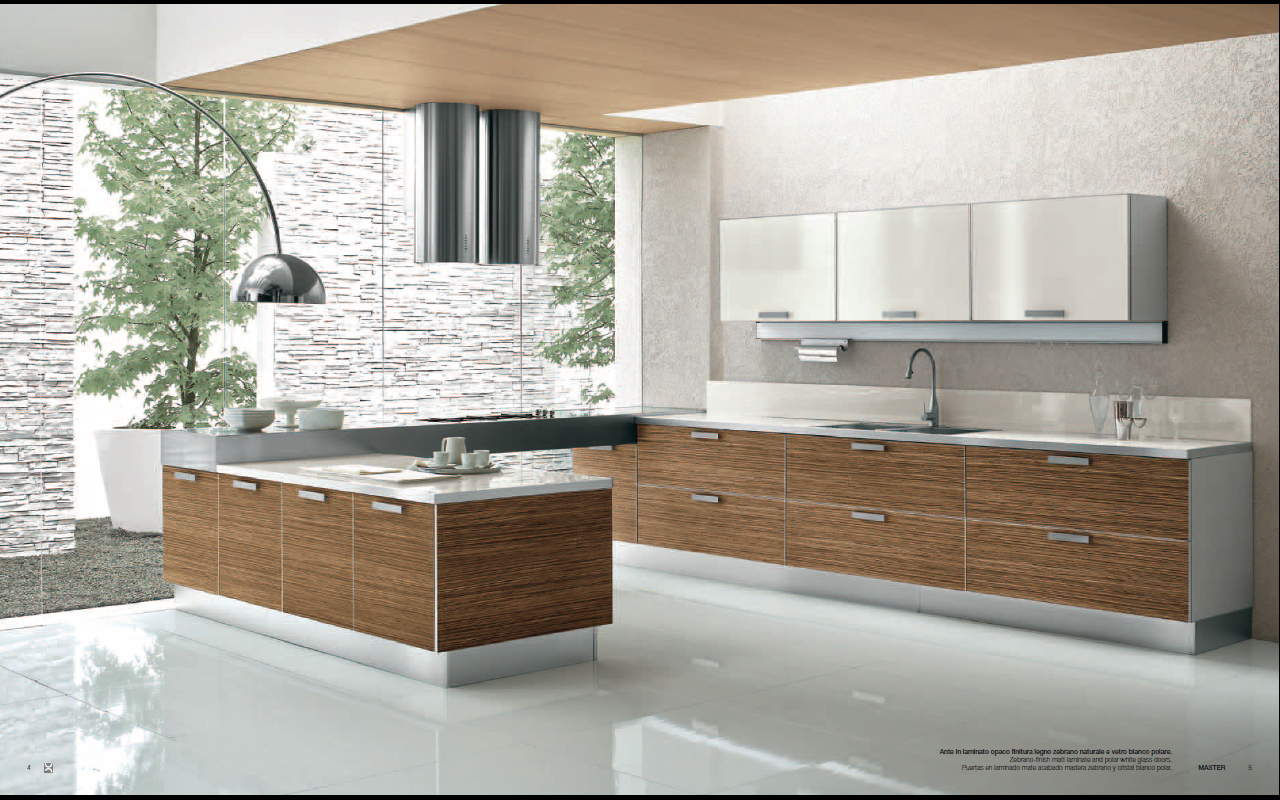 Designs From Berloni Master Club Modern Kitchen Interior Design