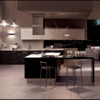 Metropolis Modern Kitchen Interior Decor