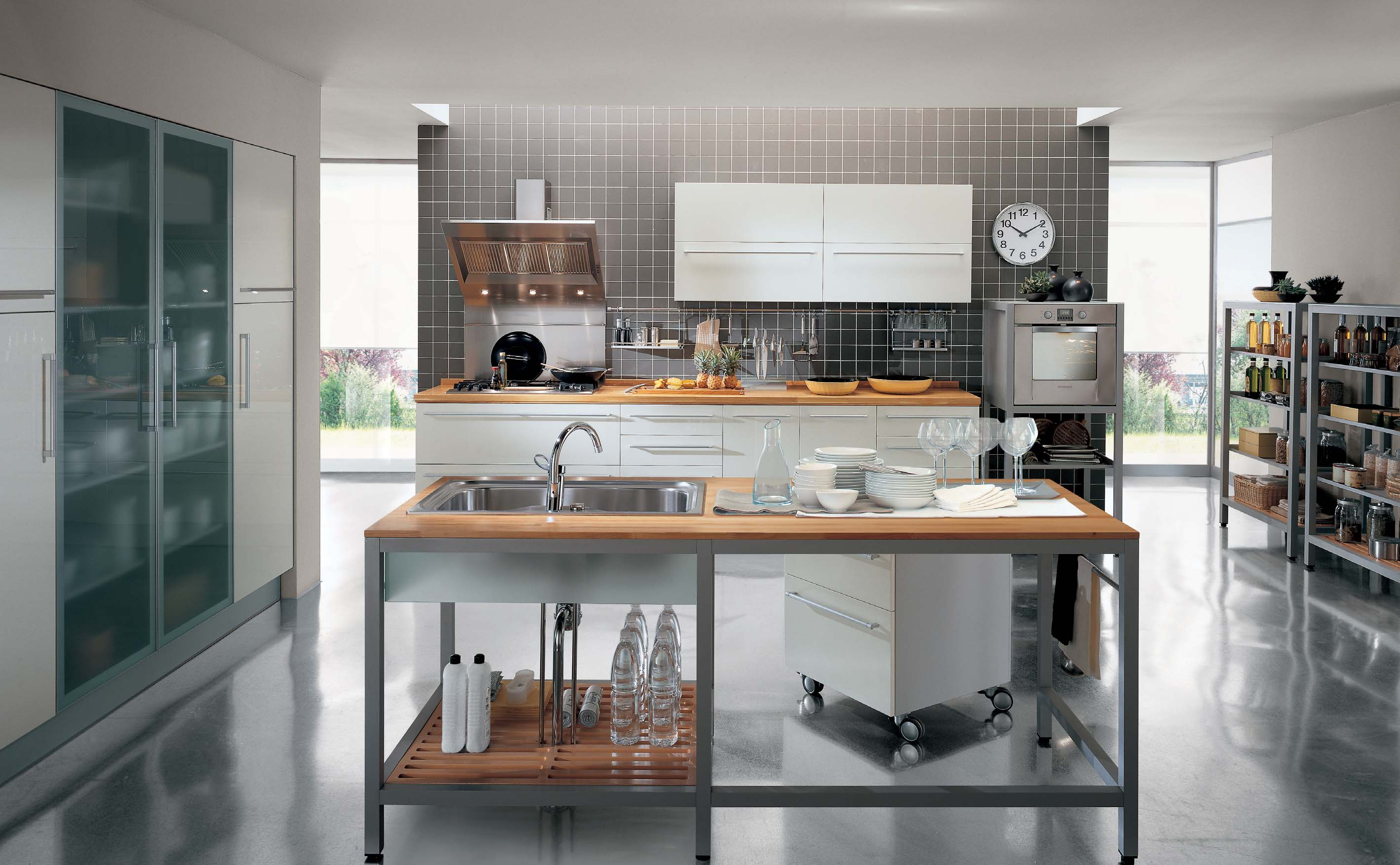 Modern Class Cromatica Simple Kitchen Interior