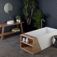 Timber Bathroom by Omvivo