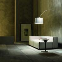 Tuco Floor Lamp White by Modani