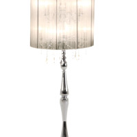 White Cassiopea Floor Lamp