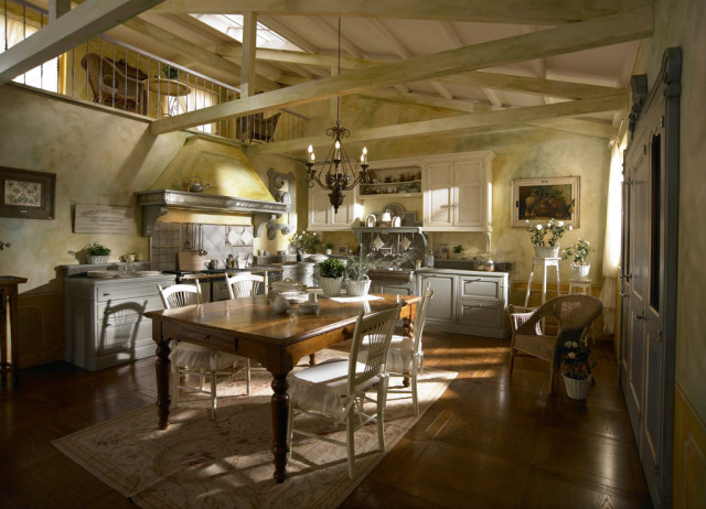 Country Chic Kitchen Dhialma -1 by Marchi Cucine