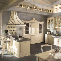 Country Chic Kitchen Dhialma -1 by Marchi Cucine - StyleHomes.net