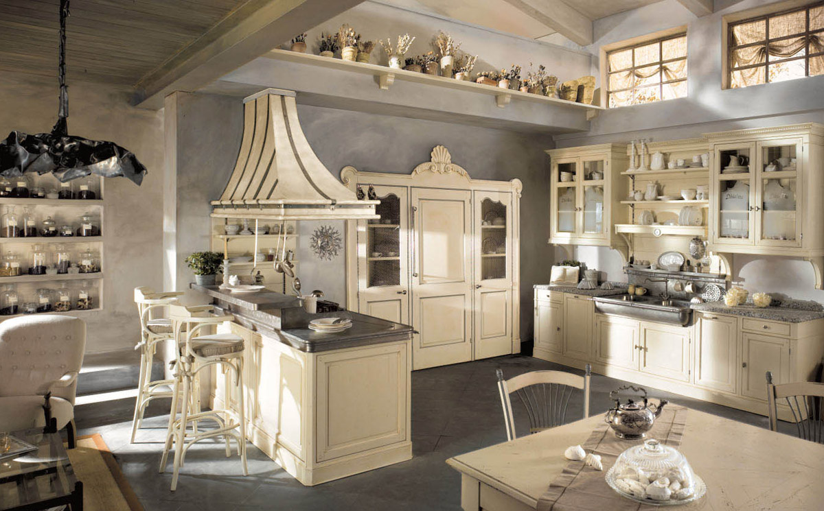 Country Chic Kitchen Dhialma -2 by Marchi Cucine