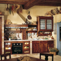 Country Chic Kitchen Doralice by Marchi Cucine