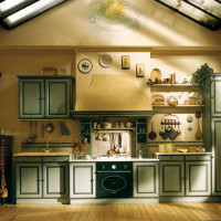 Country Chic Kitchen Granduca by Marchi Cucine
