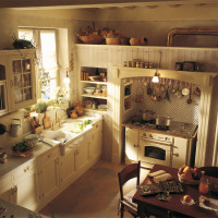 Country Chic Kitchen Old England by Marchi Cucine