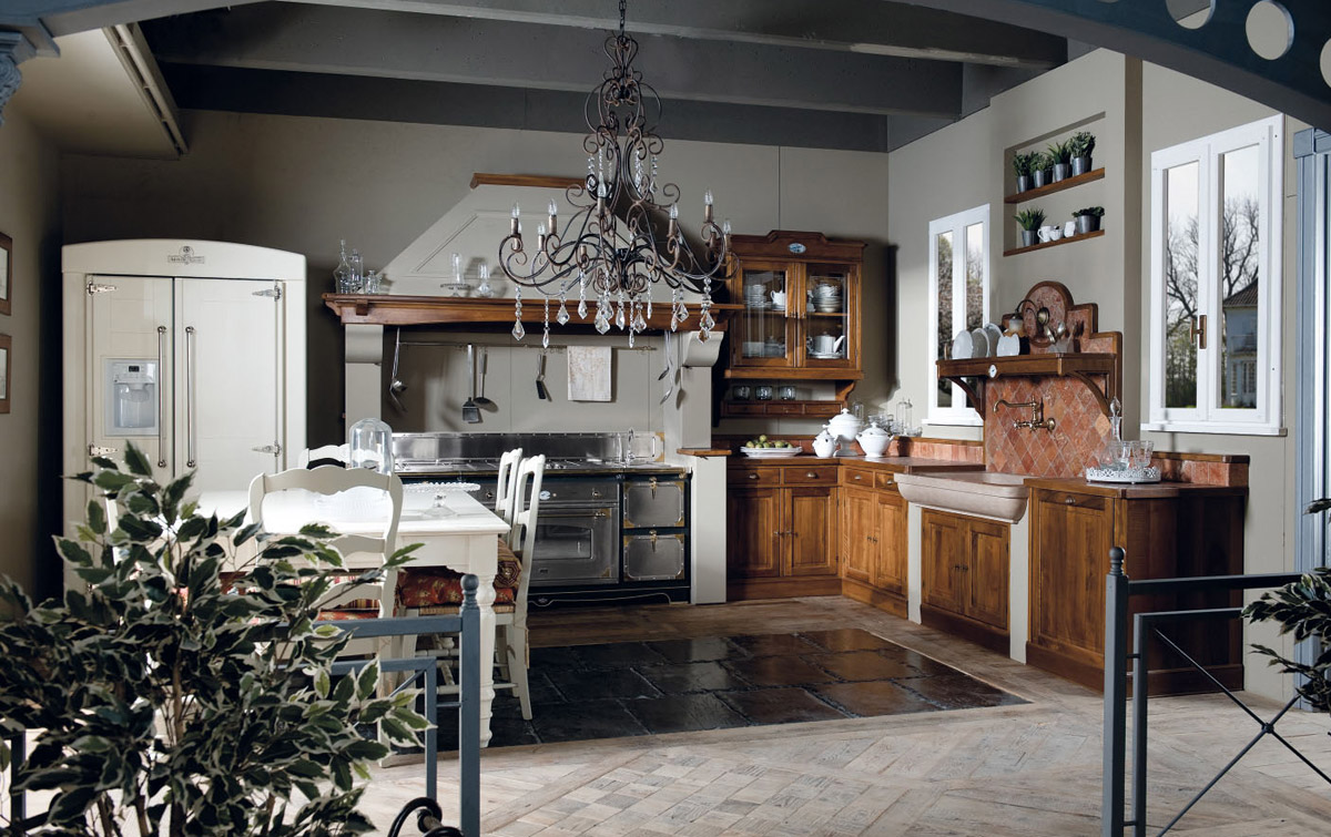 Country chic kitchen valenzuela 2 by marchi cucine - Objetos de decoracion vintage ...