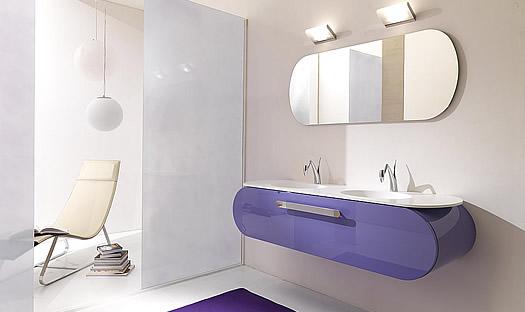 Lasa Flux Bathroom Furniture Set-001