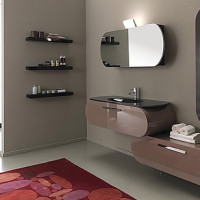 Lasa Flux Bathroom Furniture Set-002